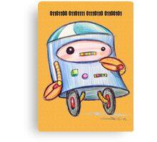 Robot Loves You Canvas Print