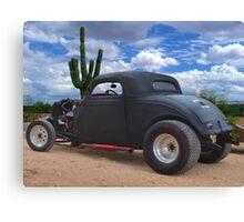 Desert Rat Rod Canvas Print