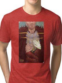 Cullen Romance tarot Tri-blend T-Shirt
