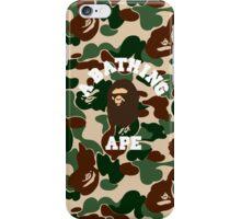 a bape miltcam  iPhone Case/Skin
