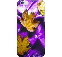 Newly Fallen Leaves iPhone Case/Skin