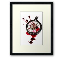 Tears of time  Framed Print