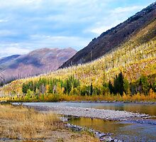 Glacier Park Autumn 4 by rocamiadesign