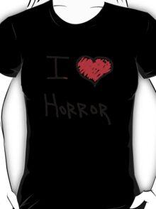 i love halloween horror  T-Shirt