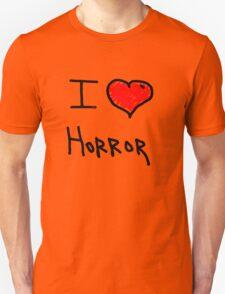 i love halloween horror  Unisex T-Shirt