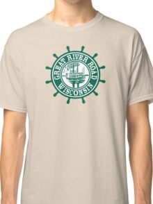 Great River Road Sign, Wisconsin, USA Classic T-Shirt