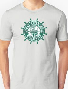 Great River Road Sign, Wisconsin, USA Unisex T-Shirt
