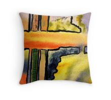 Which Way Do I Go? Throw Pillow