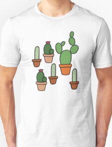 Cactus Pattern Unisex T-Shirt