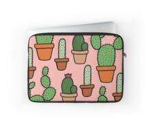 Cactus Pattern Laptop Sleeve