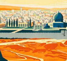 Visit Palestine Sticker