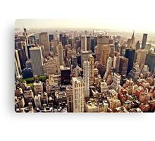 New York City From Above Canvas Print
