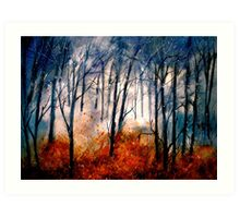 Early Snow... Art Print