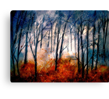 Early Snow... Canvas Print