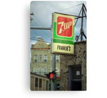 Frankie's Tavern, Binghamton, New York Canvas Print