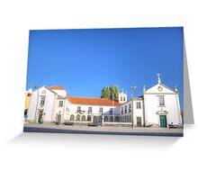 Convento e Igreja das Carmelitas Greeting Card