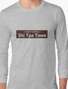 Historic Shi Tpa Town Long Sleeve T-Shirt