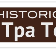 Historic Shi Tpa Town Sticker