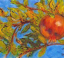 Pomegranate, Greece by JackieSherwood