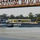 Tug pushing barge by chkern7