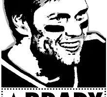 """Tom Brady is """"BRADY STRONG""""  by mvjudge"""