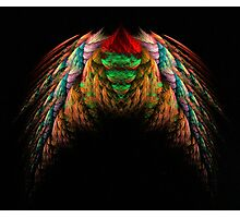 Wings fractal art Photographic Print