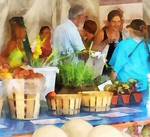 At the Farmer's Market by Susan Savad