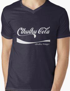 Cthulhu Cola Mens V-Neck T-Shirt