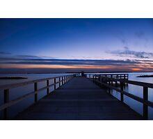 Oceanside Borstahusen Pier Photographic Print