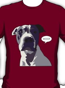 Officer Murphy is a dog of few words T-Shirt