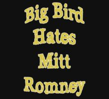 Big Bird Hates Romney by HighDesign