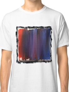 Red and Blue Classic T-Shirt