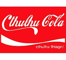 Cthulhu Cola Photographic Print