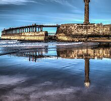 Whitby West Light House by Paul Eyre