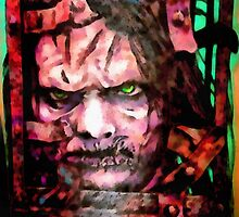 The Jackal : 13 Ghosts (Print) by VON ZOMBIE ™©®