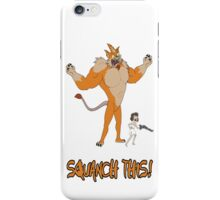 Rick and Morty – Squanch This! iPhone Case/Skin