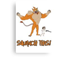 Rick and Morty – Squanch This! Canvas Print
