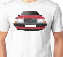 Volvo 740 red Unisex T-Shirt