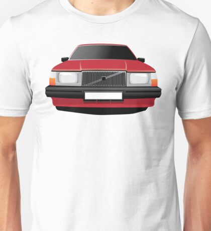 Volvo 740 red Unisex T-Shirt