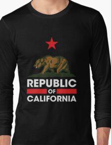 Republic of California - Dark Long Sleeve T-Shirt
