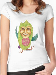 Owl Right Women's Fitted Scoop T-Shirt