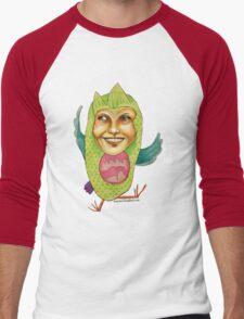 Owl Right Men's Baseball ¾ T-Shirt