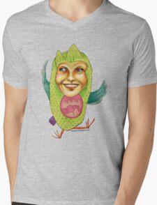 Owl Right Mens V-Neck T-Shirt