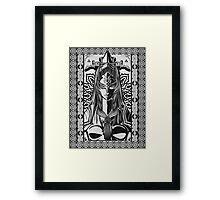 Legend of Zelda Midna Twilight Princess Geek Line Artly  Framed Print