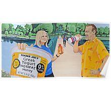 Mural - Pedestrian Bridges Poster