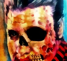 He Lives (Print) by VON ZOMBIE ™©®
