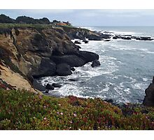 Pacific Coast View Photographic Print