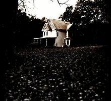 the house on the hill. by ShellyKay