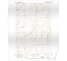 USGS Topo Map Washington State WA Winchester NE 244735 1966 24000 Poster