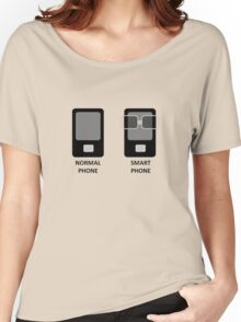 Phone vs Smartphone Women's Relaxed Fit T-Shirt